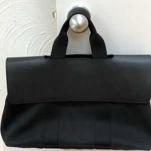 Hermes canvas bag
